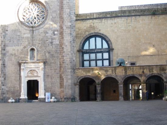 L'ingresso della Cappella Palatina