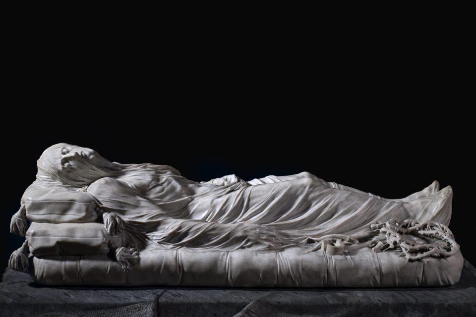Il Cristo Velato (foto da Museo Cappella Sansevero)