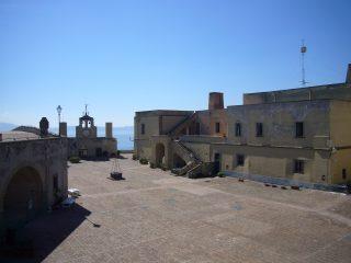 Castel Sant'Elmo: Piazza d'Armi